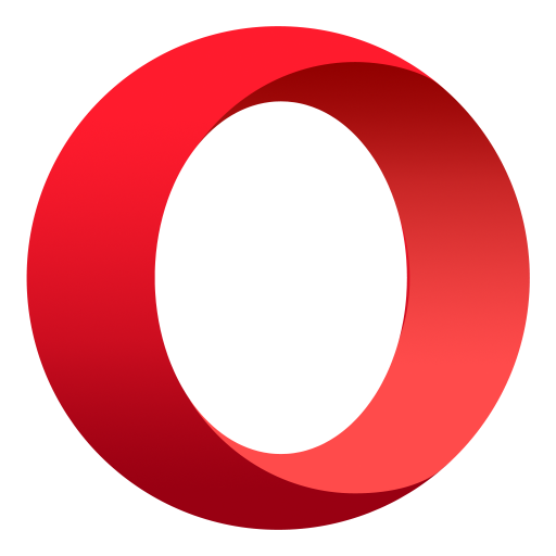 Opera browser with free VPN आइकन
