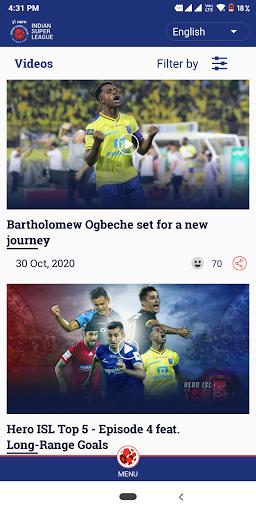 Indian Super League - Official App screenshot 3