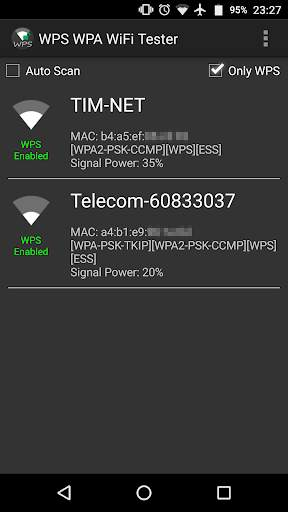 WPS WPA WiFi Tester (No Root) screenshot 1