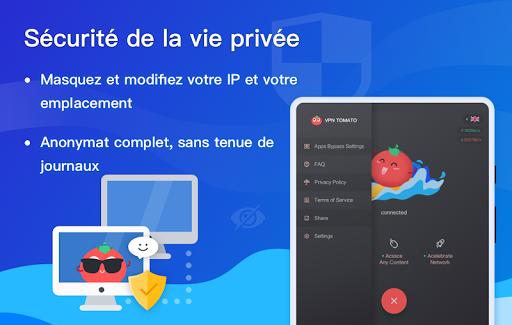 Free VPN Tomato | Un VPN gratuit ultra rapide screenshot 10
