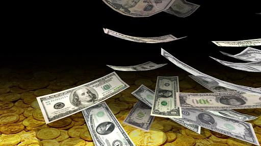 Falling Money 3D Live Wallpaper 9 تصوير الشاشة
