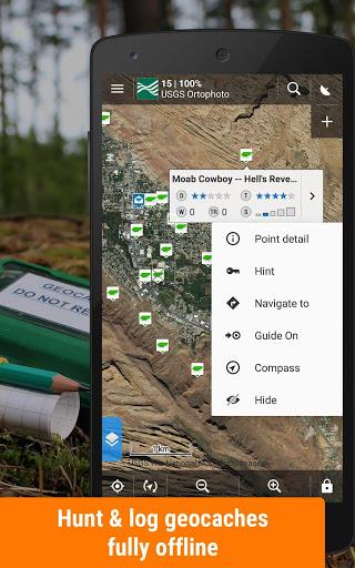 Locus Map Free - Hiking GPS navigation and maps screenshot 5