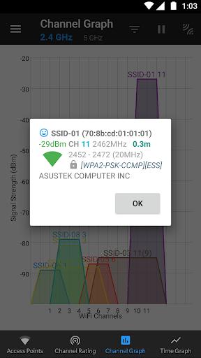 WiFi Analyzer (open-source) screenshot 15