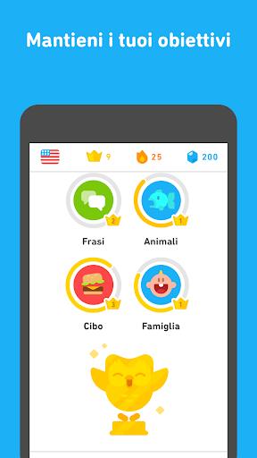 Impara l'inglese con Duolingo screenshot 5