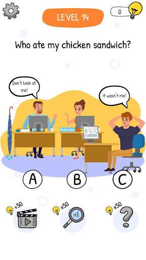 Who is? Brain Teaser & Riddles स्क्रीनशॉट 5