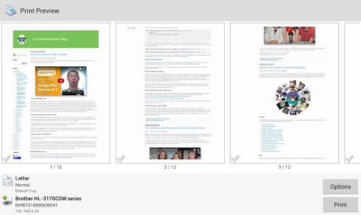 PrinterShare Mobile Print screenshot 8