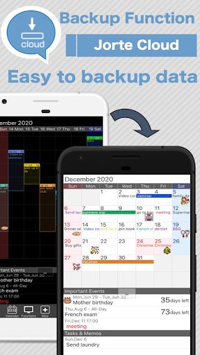 Calendar, Personal Planner & Diary - Jorte screenshot 6
