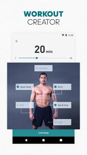 adidas Training by Runtastic - Workout Fitness App screenshot 1