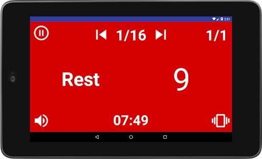 Simple HIIT Interval Timer 12 تصوير الشاشة