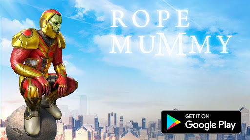 Rope Mummy Crime Simulator: Vegas Hero स्क्रीनशॉट 1