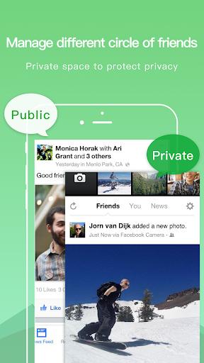 Dual Space - Multiple Accounts & App Cloner screenshot 4