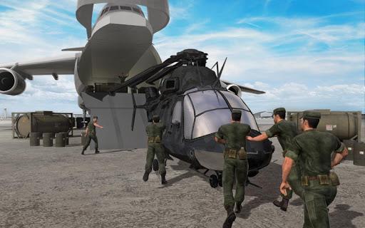 الجيش هليكوبتر الناقل الطيار محاكي 3D 3 تصوير الشاشة