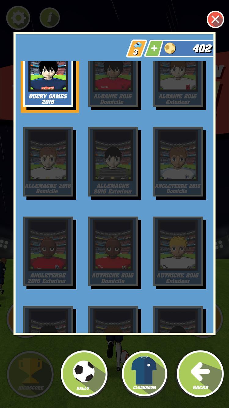 Captain Soccer : EURO 2016 2 تصوير الشاشة