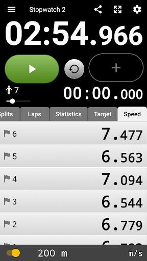 Talking Stopwatch - The advanced timer with speech screenshot 6