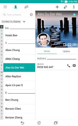 ZenUI Dialer & Contacts screenshot 6