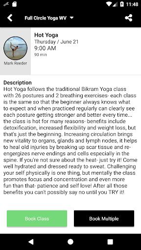 Full Circle Yoga WV screenshot 4
