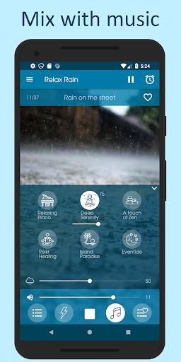 الاصوات من المطر 4 تصوير الشاشة