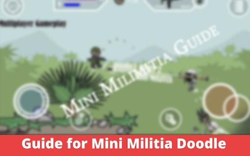 Guide for Mini Militia Doodle gun 2020 screenshot 3