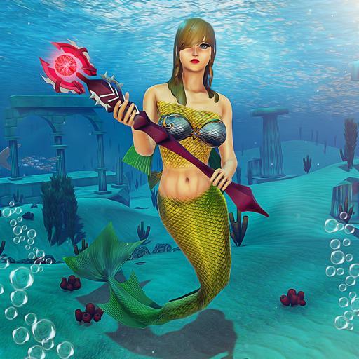 Underwater Mermaid Simulator icon
