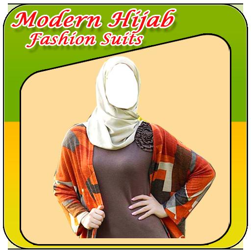 Modern Hijab Fashion Suits icon