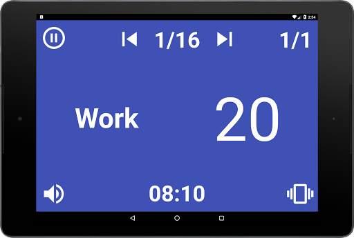 Simple HIIT Interval Timer 17 تصوير الشاشة