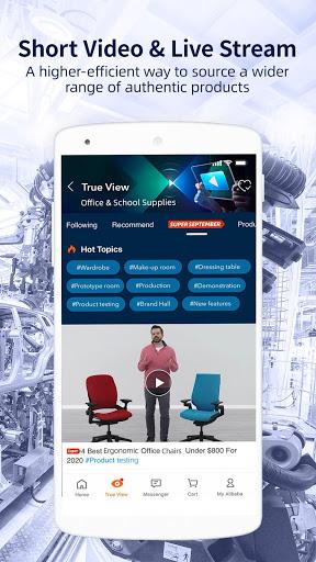 Alibaba.com - Leading online B2B Trade Marketplace screenshot 1
