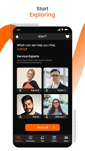 Edapt - Study & Work Abroad 2 تصوير الشاشة
