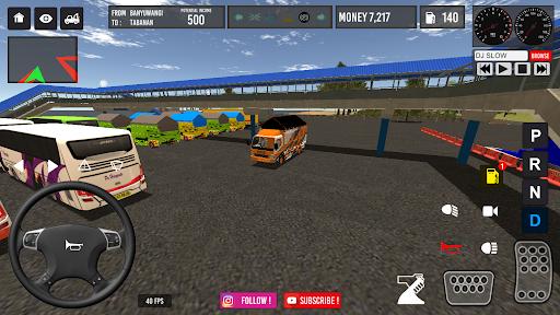 IDBS Indonesia Truck Simulator screenshot 7
