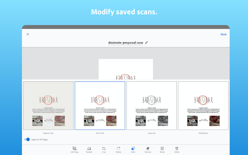 Adobe Scan: PDF Scanner with OCR, PDF Creator 14 تصوير الشاشة