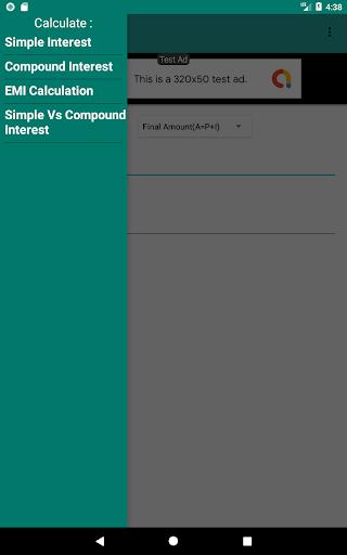 Interest Calculator screenshot 3