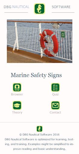 Marine Safety Signs screenshot 1