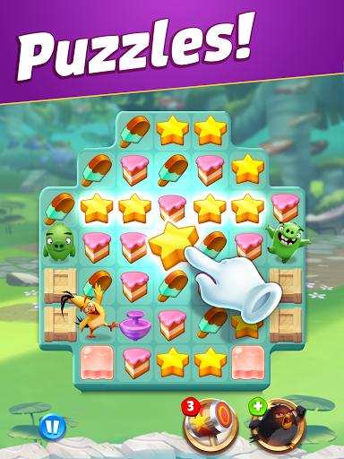 Angry Birds Match 3 19 تصوير الشاشة