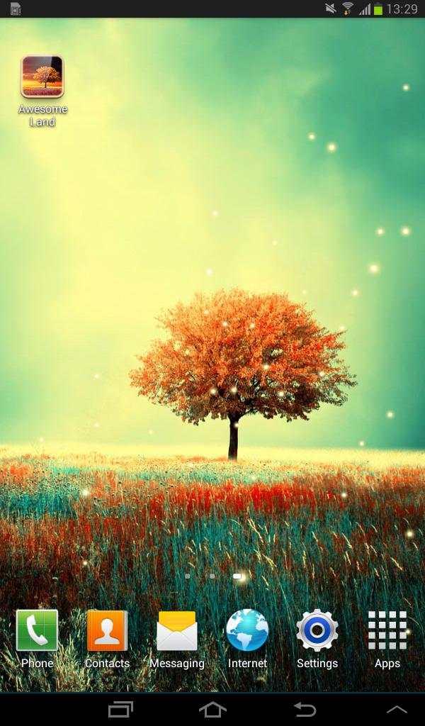 Awesome-Land Live wallpaper HD : Grow more trees screenshot 9