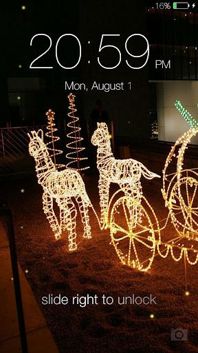 Fireflies lockscreen 8 تصوير الشاشة