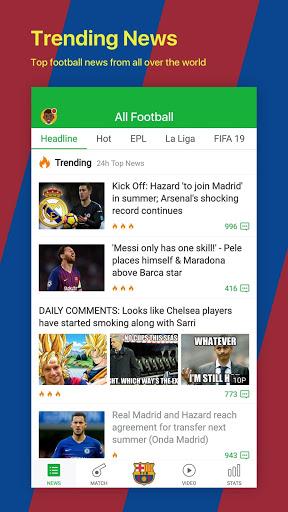 All Football - Barcelona News & Live Scores screenshot 2