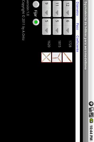 Equivalencia de hélices 3 تصوير الشاشة