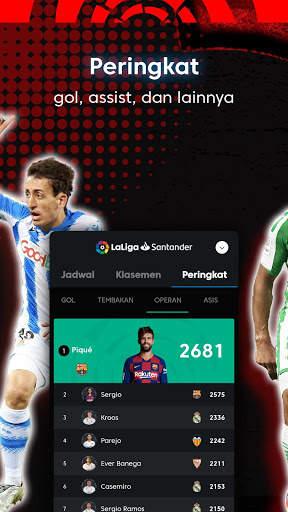 La Liga - Sepak bola dan Hasil Pertandingan screenshot 9