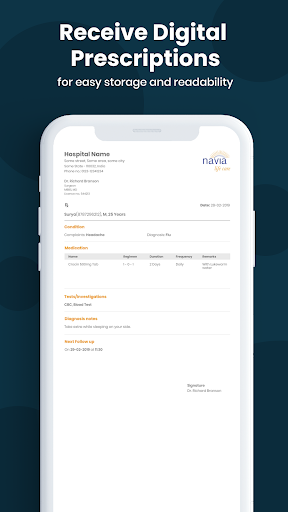Navia for Patients (Health Manager) screenshot 4