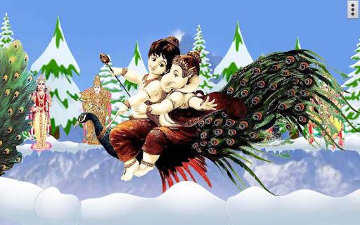 4D Lord Murugan Live Wallpaper screenshot 13