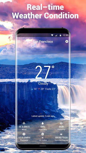 weather and temperature app Pro screenshot 3