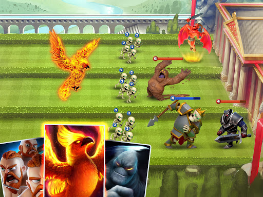 Castle Crush - لعبة استراتيجية 3 تصوير الشاشة