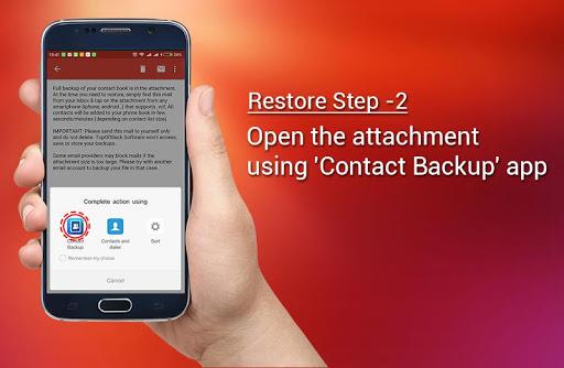 Contact Backup screenshot 7