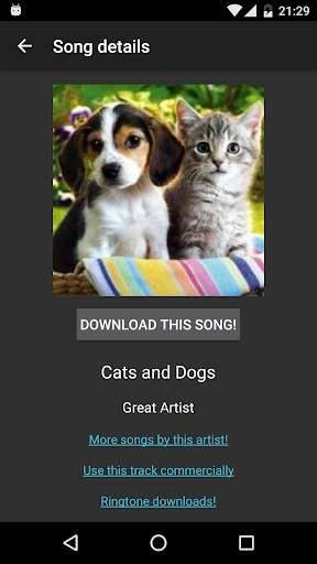 Free Mp3 Downloads स्क्रीनशॉट 4