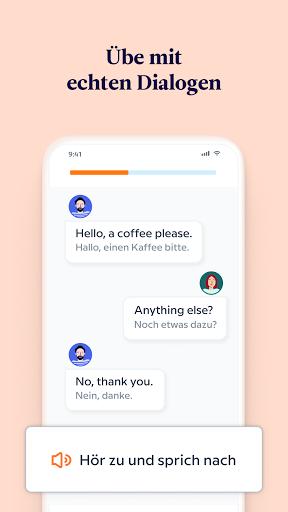 Babbel – Sprachen lernen – Englisch, Spanisch & Co screenshot 3