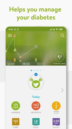 mySugr - Diabetes App & Blood Sugar Tracker screenshot 1