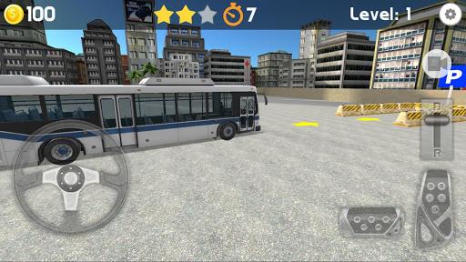Bus Parking 3D 4 تصوير الشاشة