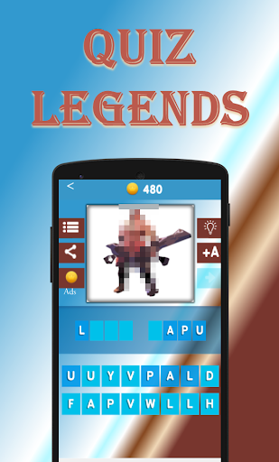 Quiz Legends. Guess the Hero 3 تصوير الشاشة