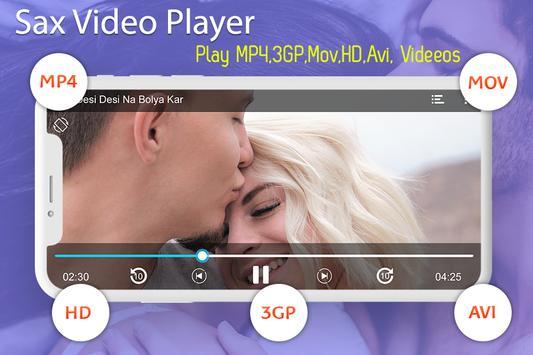 Sax Video Player 2019 screenshot 1