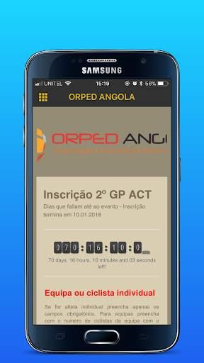 Orped Angola screenshot 1