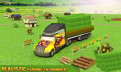 Farm Truck : Silage Game screenshot 2